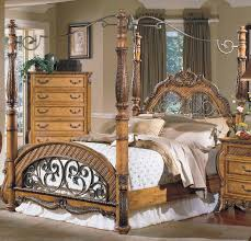bedroom excellent canopy bed design made from solid wood modern