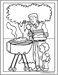 printable coloring pages color with fuzzy