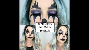 rhinestone glam clown makeup tutorial halloween costume makeup