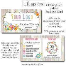 clothing business cards clothing rep card business card