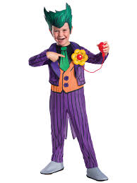 dc comics the joker deluxe child costume wholesale halloween