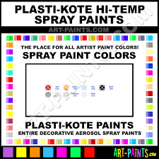 plasti kote hi temp spray paint aerosol colors plasti kote hi