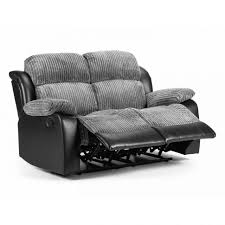 2 Seater Leather Recliner Sofa by Sofas Center Black Leather Seater Recliner Sofa Impressive