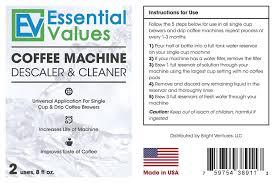 Keurig Descale Light Amazon Com Essential Values Universal Descaler For Espresso And