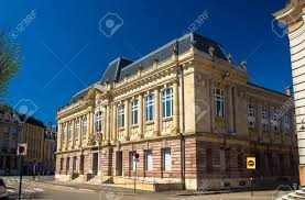 chambre du commerce belfort palace of justice in belfort stock photo picture and