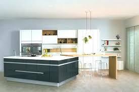 cuisine avec ilot table ilot central cuisine avec table cuisine acquipace avec ilot central