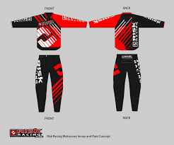 custom motocross jersey printing bold masculine t shirt design for james burry by dinasty