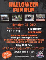 halloween fun run postponed until november 7 queens n y college