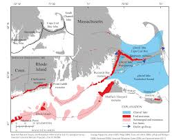 Map Of Cape Cod Massachusetts by Shallow Geology Sea Floor Texture And Physiographic Zones Of