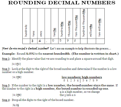 sample rounding decimals homework help