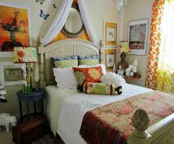 bedding set charming boho chic bedroom decorating ideas lighting