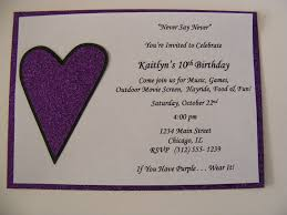 whimsical creations by ann justin bieber invitations birthday