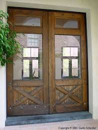 Wood Patio French Doors - knotty alder 3 4 glass exterior doors patio doors 72