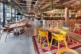 new construction restaurant dachgarten mannheim architect
