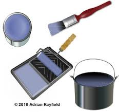 Interior Painting Tools How To Paint An Interior Wall Painting Decorating And Home