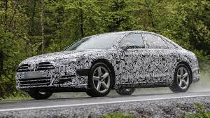 2018 audi a8 spied with production body for the first time