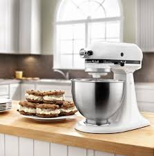 5 Quart Kitchenaid Mixer by Review Kitchenaid Ksm75wh 4 5 Qt Classic Plus Stand Mixer