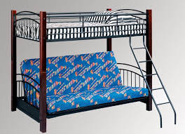 Bedroom Fabulous Twin Over Futon Bunk Bed With Stair Featuring - Futon bunk bed frame