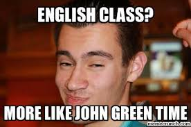 Memes About English Class - class