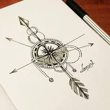 arrow arrows compass art artwork artlover zentangle draw