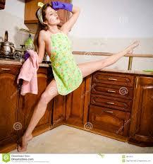 femme nue cuisine danse femelle nue de gymnaste photo stock image du danser