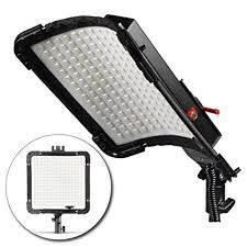 flexible led lighting film amazon com kamerar brightcast led panel with ac adapter water
