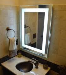 Commercial Bathroom Mirrors by Backlit Led Bathroom Mirror Springfield Missouri Illuminated