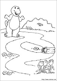 barney friends 76 cartoons u2013 printable coloring pages