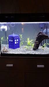 doctor who themed fish tank tardis fish tanks