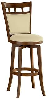 24 Inch Bar Stools With Back Amazon Com Hillsdale Jefferson 24 Inch Swivel Counter Stool With
