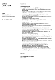 sle resume for retail marketing 28 images all sales associate
