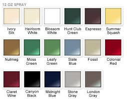 rust oleum metallic spray paint color chart home painting