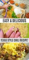 texas style chili recipe with skinner texas shape pasta ad pin