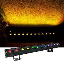 Led Strobe Light Strips by Mega Lite N E Color Fx9 Rgb 9x3 Watt Led Strip Light Pssl