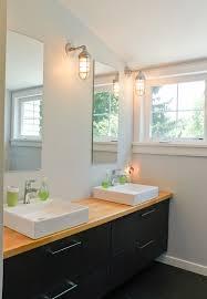 ikea vanity set floor mount faucet shower door white glossy fibre