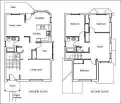 100 examples of floor plans for a house looking around
