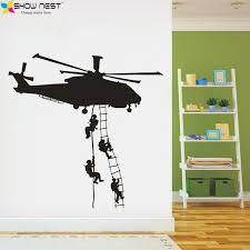 stickers garcon chambre militaire hélicoptères stickers muraux décoration de la maison