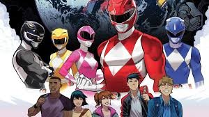 mighty morphin u0027 power rangers 17 start chapter