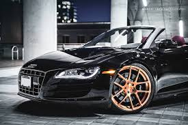 audi r8 gold audi r8 convertible with adv1 wheels image 12 15 dreamcarsite com