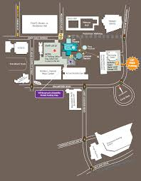 University Of Tennessee Parking Map by Directions And Parking Clarence Brown Theatre