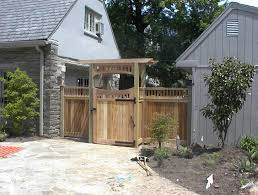 Arbors And Trellises Custom Wooden Fencing In The Philadelphia Area Everlasting Fence