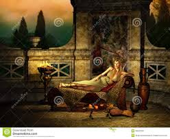 Relaxed Romans Relaxing Environment 3d Cg Stock Photo Image 38542500
