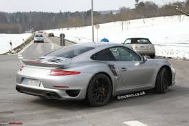 porsche whale tail scoop porsche 911 991 turbo caught undisguised edit now