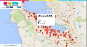 Map My Friends Nikil U0027s Fun