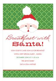 christmas brunch invitation wording breakfast with santa invitations by invitation