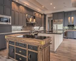 Grey Kitchen Cabinets With Transitional Kitchen Puchatek - Transitional kitchen cabinets