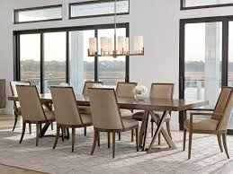 Double Pedestal Dining Room Tables Zavala Loggia Rectangular Double Pedestal Dining Table Lexington