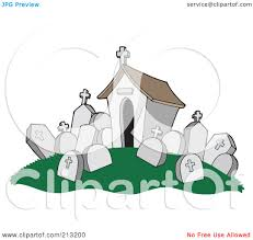 graveyard clipart royalty free rf clipart illustration of a tomb and headstones in