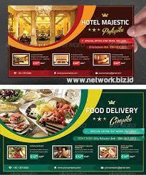 contoh desain brosur hotel psd contoh brosur flyer hotel dan restoran network biz id