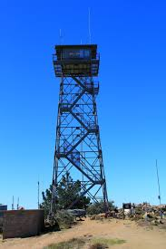 lookout tower at the palomar mountain highpoint photos